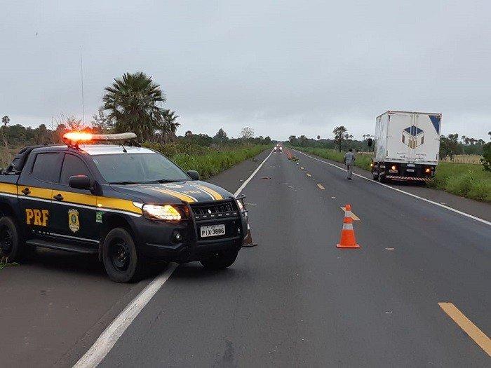 Mulher morre atropelada na BR 343 em Campo Maior