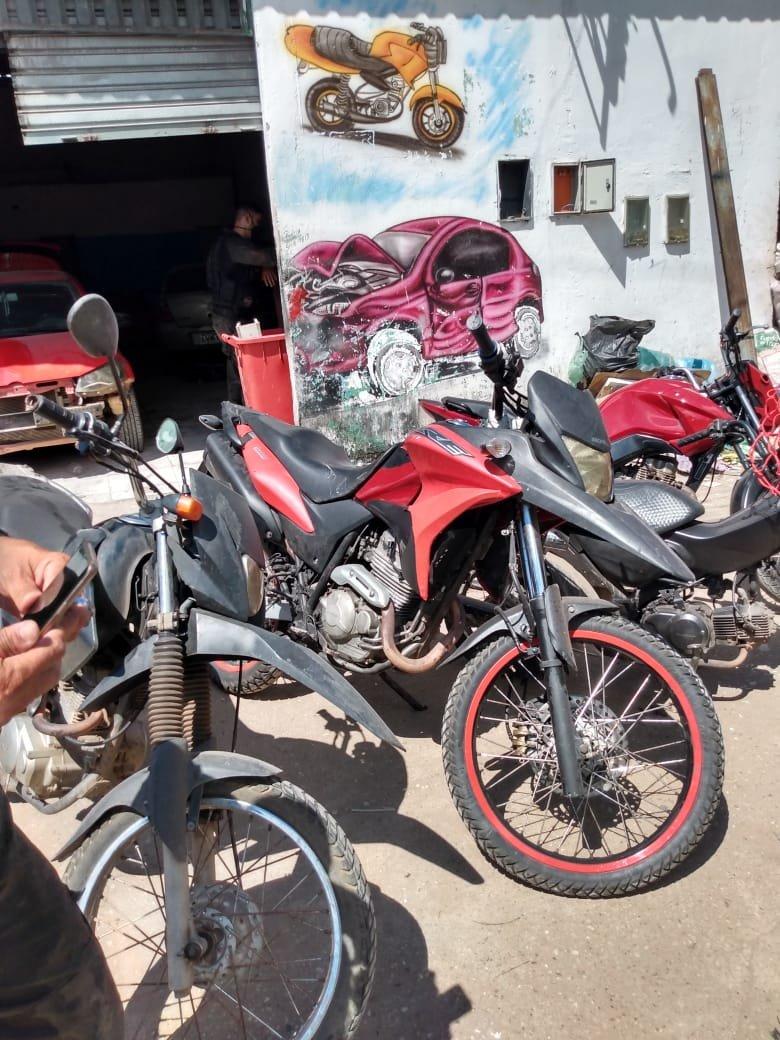 Força-Tarefa apreende motos adulteradas em Teresina