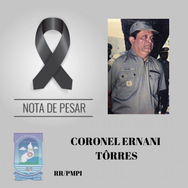 Coronel Ernani Tôrres morre vítima de Covid-19